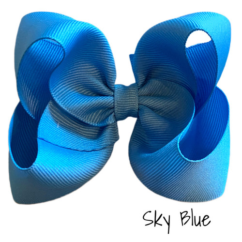 Sky Blue Classic Grosgrain