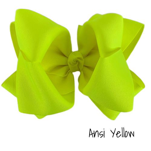 Ansi Yellow Grosgrain Stack