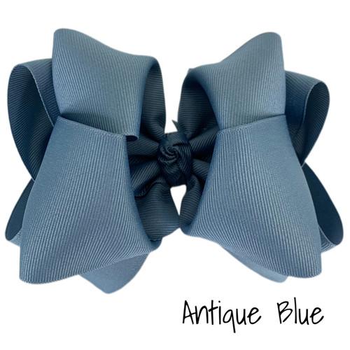 Antique Blue Grosgrain Stack