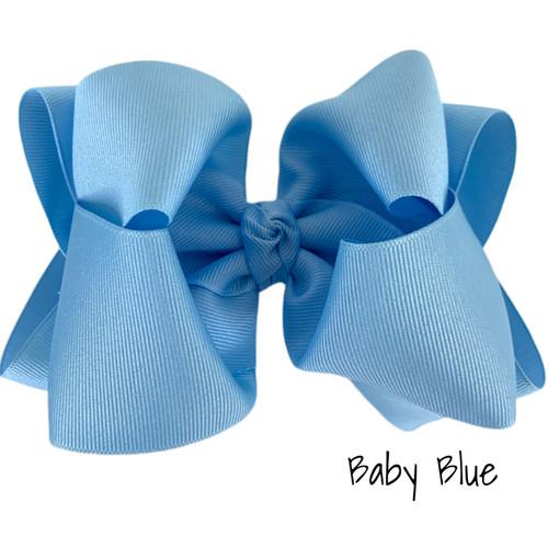 Baby Blue Grosgrain Stack