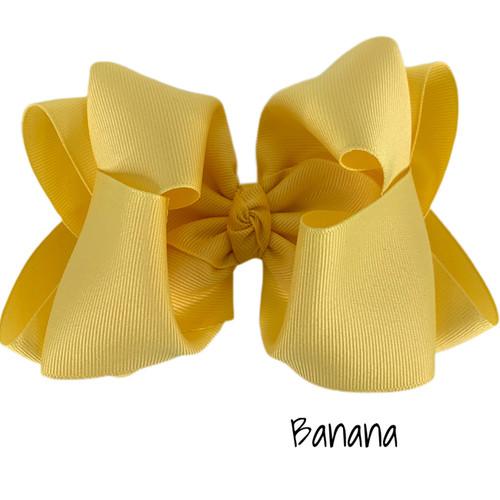 Banana Grosgrain Stack