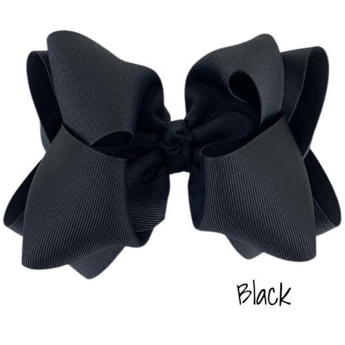 Black Grosgrain Stack