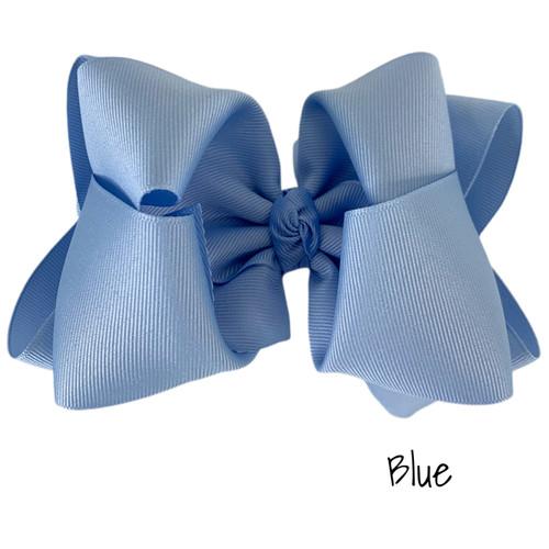 Blue Grosgrain Stack