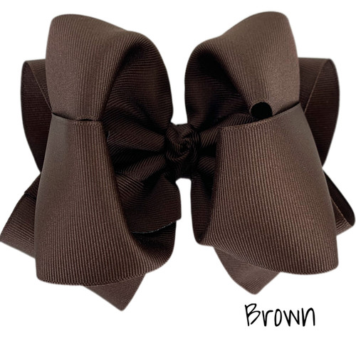 Brown Grosgrain Stack
