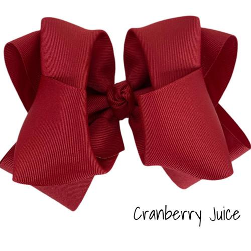 Cranberry Juice Grosgrain Stack