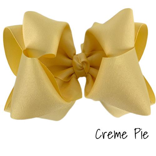 Creme Pie Grosgrain Stack