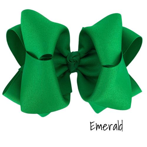 Emerald Grosgrain Stack