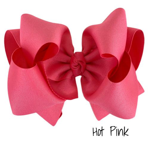 Hot Pink Grosgrain Stack