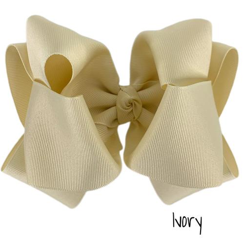 Ivory Grosgrain Stack