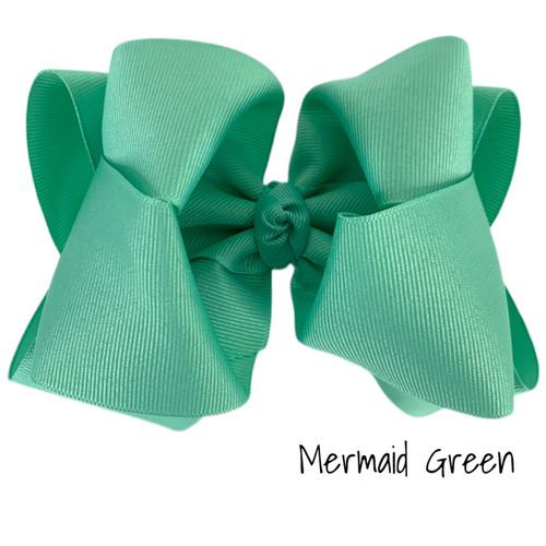Mermaid Green Grosgrain Stack