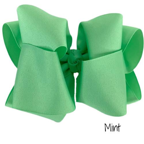 Mint  Grosgrain Stack