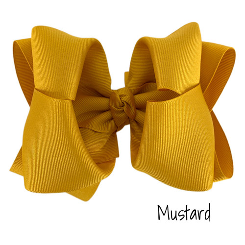 Mustard Grosgrain Stack