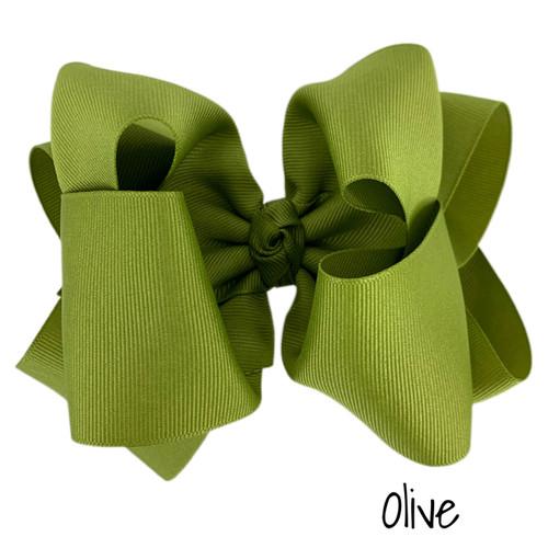 Olive Grosgrain Stack