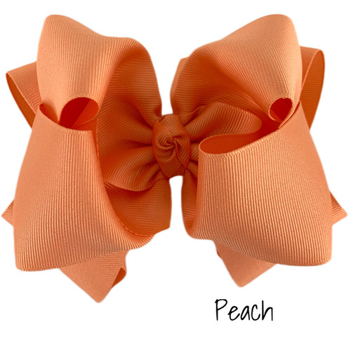 Peach Grosgrain Stack