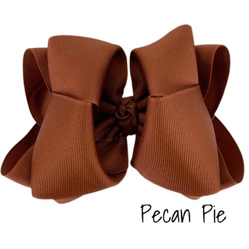 Pecan Pie Grosgrain Stack