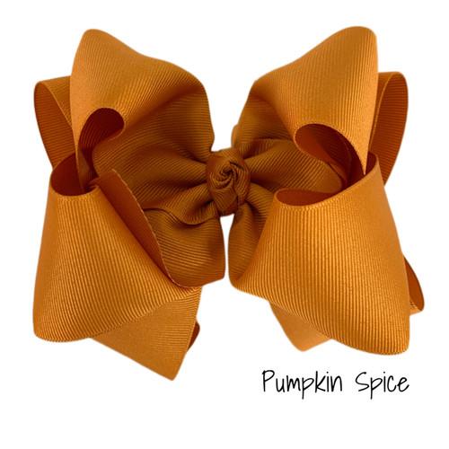 Pumpkin Spice Grosgrain Stack