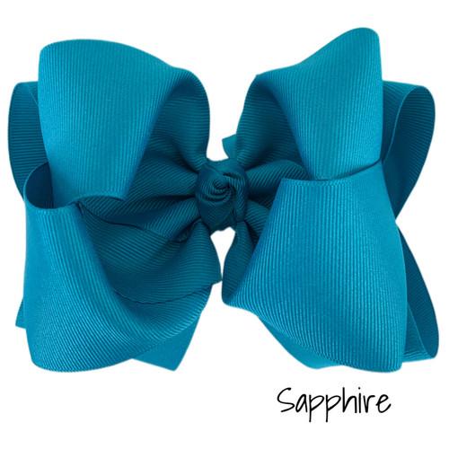 Sapphire Grosgrain Stack