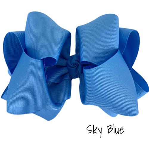 Sky Blue Grosgrain Stack