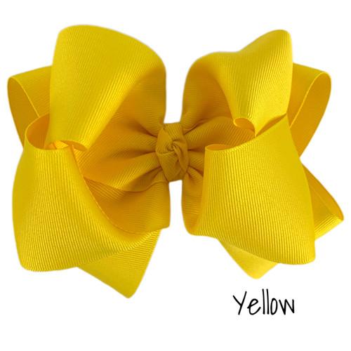 Yellow Grosgrain Stack