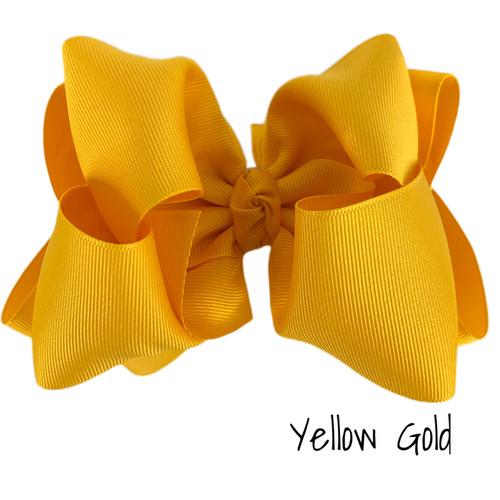 Yellow Gold Grosgrain Stack