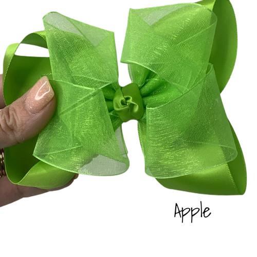 Apple  Satin Sheer Stack