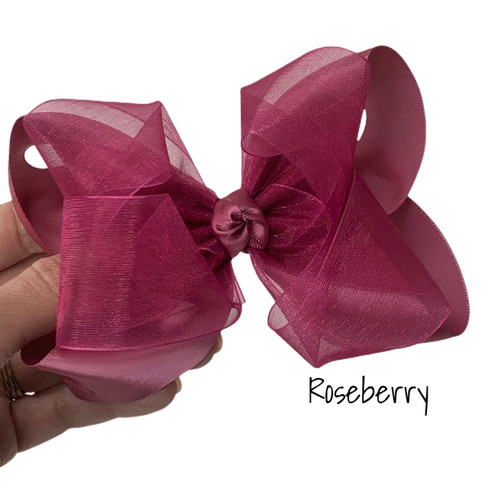 Roseberry Satin Sheer Stack