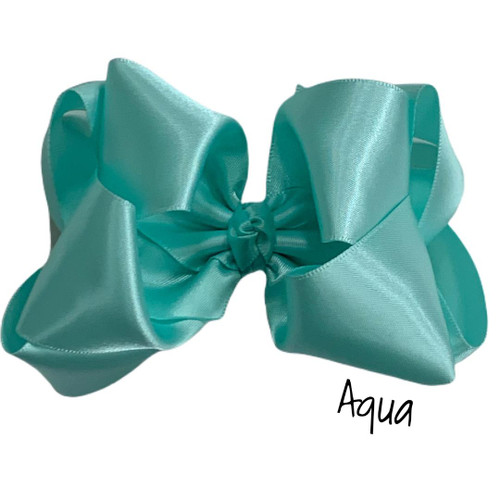 Aqua Satin Stack