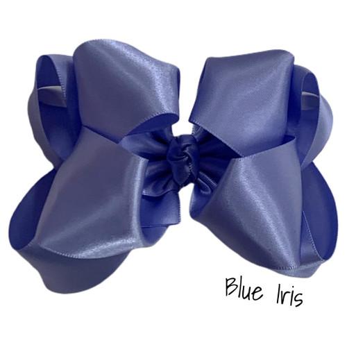 Blue Iris Satin Stack