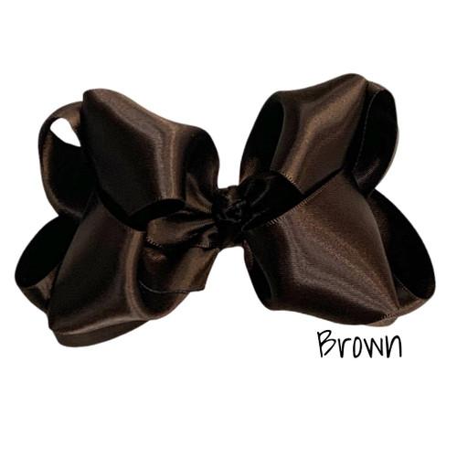 Brown Satin Stack