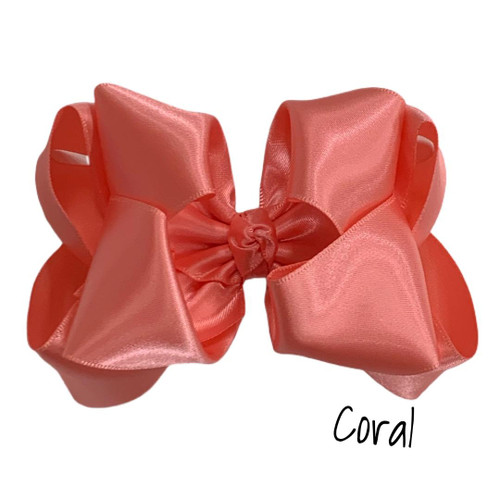 Coral Satin Stack