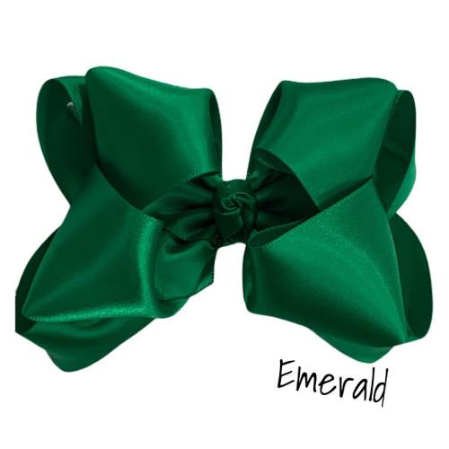 Emerald Satin Stack