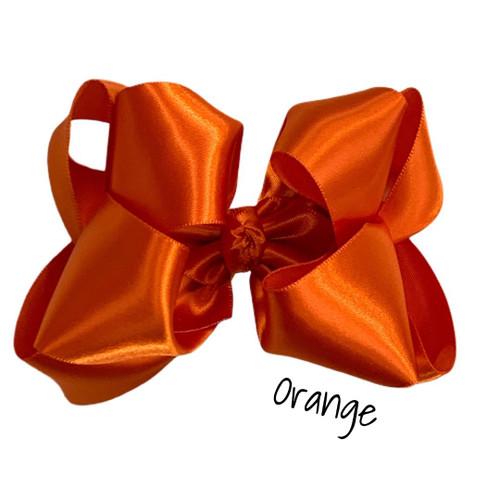 Orange Satin Stack