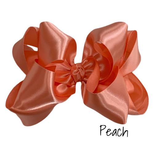 Peach Satin Stack