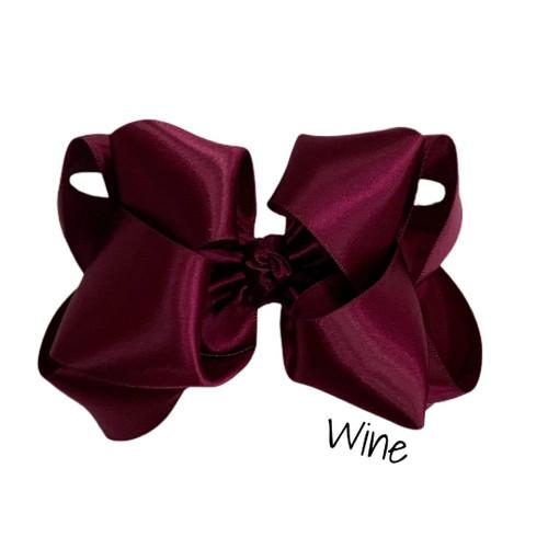 Wine Satin Stack