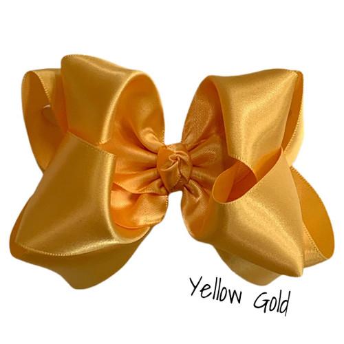Yellow Gold Satin Stack