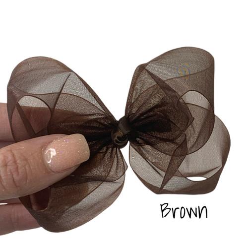 Brown Sheer