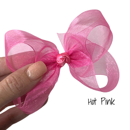 Hot Pink Sheer