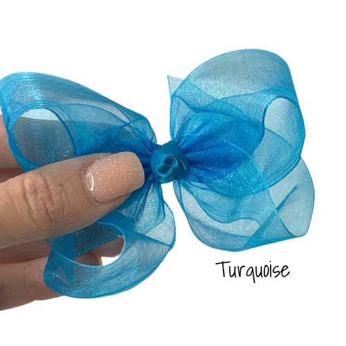 Turquoise Sheer