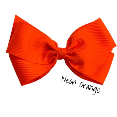 Neon Orange Tuxedo
