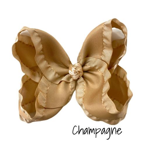 Champange Ruffle