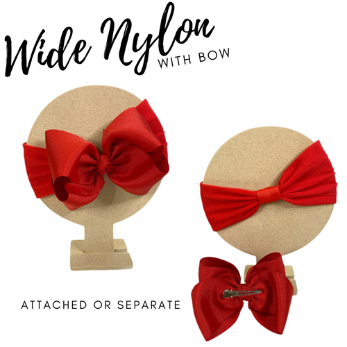 Nylon with Bow