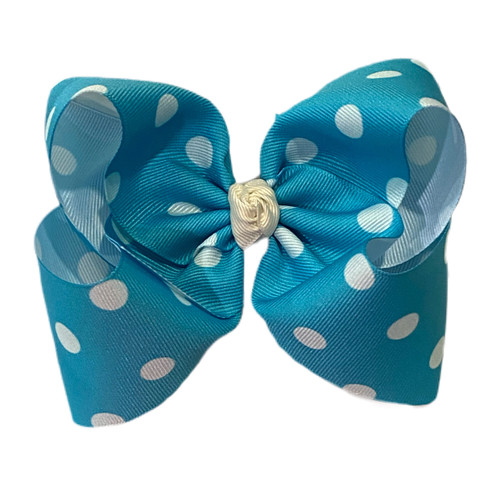 Matilda Blue Big Polka Dot
