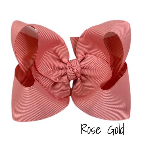 Rose Gold Grosgrain