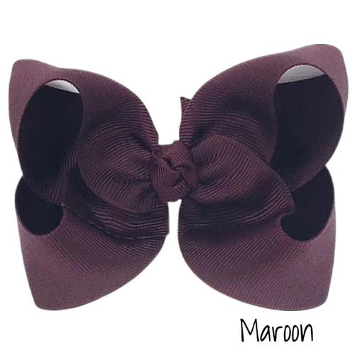 Maroon Grosgrain