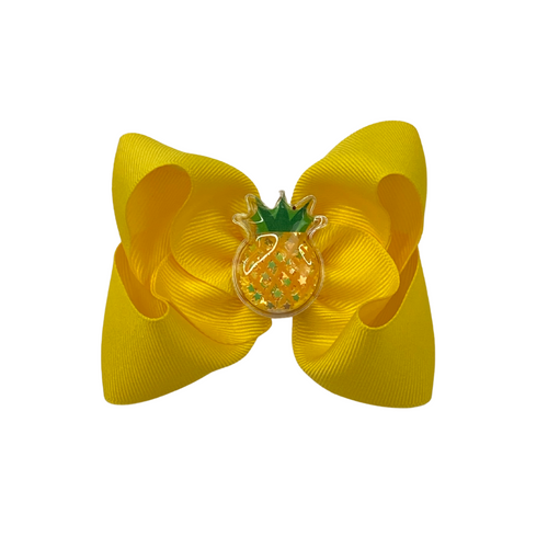 Pineapple Squishy Bow
