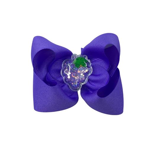 Grape Squishy Bow