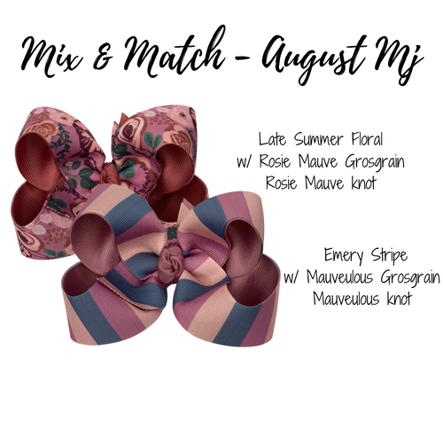 August Mix and Match Print
