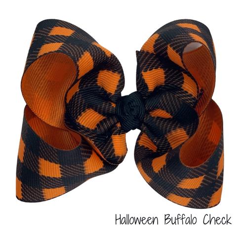 Halloween Buffalo Check