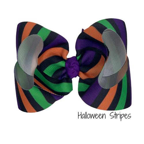 Halloween Stripes