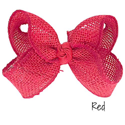 Red Burlap